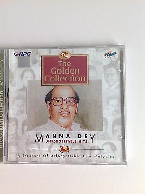 Bollywood, The Golden Collection - Manna Dey, Unforgettable Hits - 1 CD