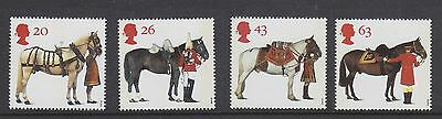 UK British Mint Stamps All the Queen's Horses 1997