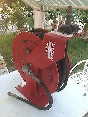LINCOLN INDUSTRIAL CORP. Heavy Duty Bare Reel for Oil Water or Most Lube Product