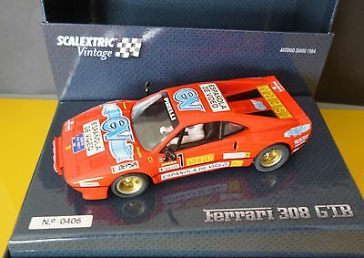 Ferrari 308 Gtb Scalextric Vintage  Ltd Edition  A10215S300 New Mint/boxed