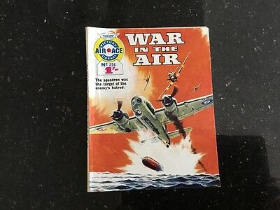 vintage air ace picture library comic No.326 war in the air
