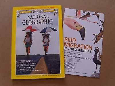 National Geographic Magazine - August 1979 -Americas Bird Migration Map Included