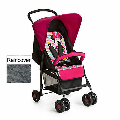 HAUCK Disney Minnie Geo Pink Lightweight Sport Pushchair buggy pram+Raincover