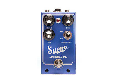 Supro Drive Overdrive with True Bypass Guitar Effect Pedal / Stompbox NEW