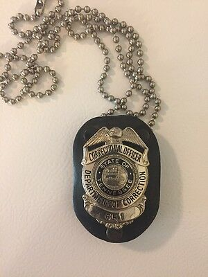 Obsolete Police Badge Tennessee Corrections Badge From Brushy Mountain Prison