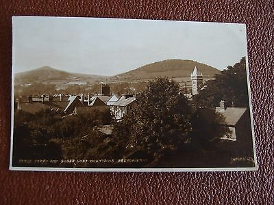 Abergavenny, Monmouthshire: Derry & Sugar Loaf Mountains 13th Aug 1958