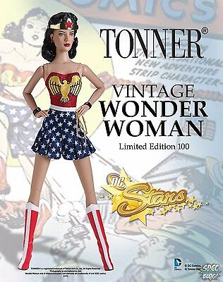 Wonder Woman Tonner Doll 2014 Comic-Con Limited Edition: Only 100 made!!!