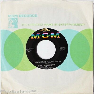 "** The Gentrys - You Make Me Feel So Good / Rare Single 7"" USA 1967 BEAT **"