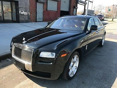 2010 Rolls-Royce Ghost Used 2010 Rolls Royce Ghost Turbo 6.6L V12 48V Automatic RWD Premium