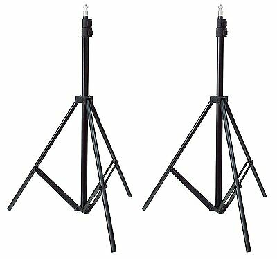 Visua Pair Professional Photography Light Stands for Photo Studio FREE DELIVERY