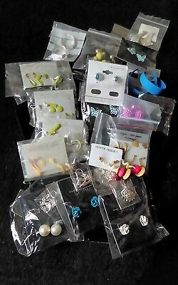 job lot of new assorted fashion earrings