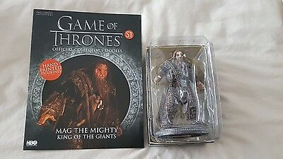 Eaglemoss Game Of Thrones Collectors SPECIAL # 1 MAG THE MIGHTY KING OF GIANTS