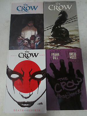 Lot of 4 The Crow Paperback and Hardcover