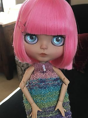 """Custom Factory OOAK Blythe Doll """"Collette """" by Dollypunk21"""