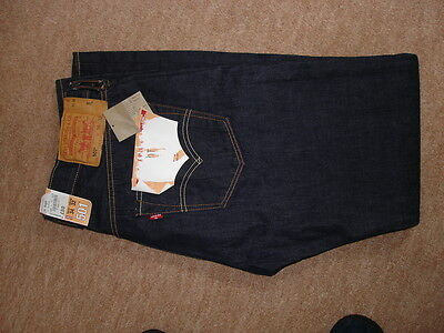 Dark blue Levis 501 Jeans  34 waist 32 leg new with tags