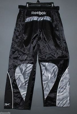 US$80 Reebok 9K ROLLER HOCKEY PANTS Sizes S (Small) - BLACK / SILVER NEW