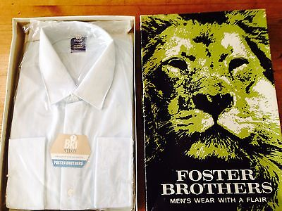 Vintage Foster Brothers Men's Shirt In Original Packaging And Box