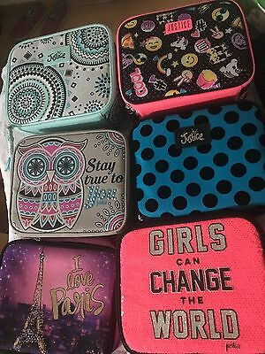 JUSTICE Girls School LUNCH BOX Bag Tote YOU PICK ~NWT Cute