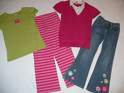 Girls Gymboree Smart And Sweet Line 4 Piece Lot Size 7/8