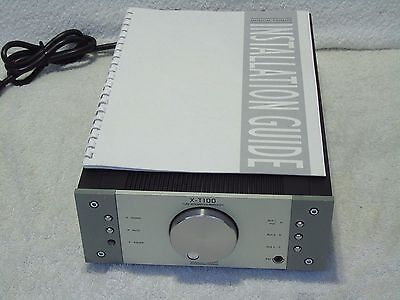 Musical Fidelity X-T100 Tube Integrated Stereo Phono Stage Amplifier + Manual