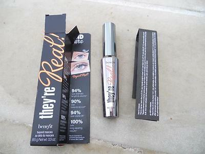 BRAND NEW 100% GENUINE BENEFIT BEYOND MASCARA they're real! (BLACK) 8.5g LOOK!!