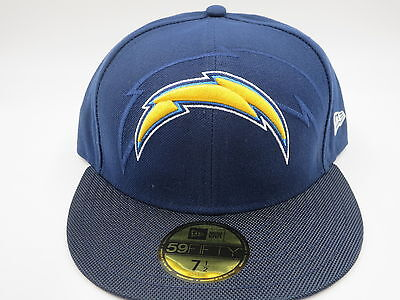97a7141f2 San Diego Chargers Blue New Era NFL 2016 Sideline 59FIFTY Fitted Hat Cap
