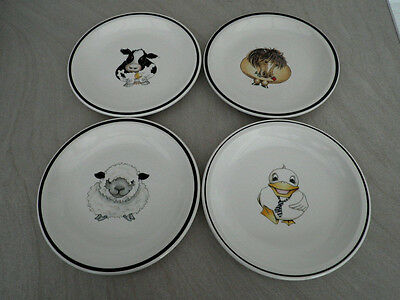 Arthur Wood 'Back to Front' Side plates x 4