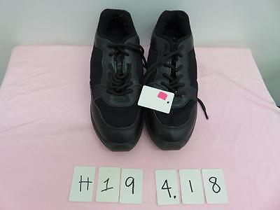 Dance Shoes Hip Hop Sneakers Black Student Size 4.5 Leo's great for Class