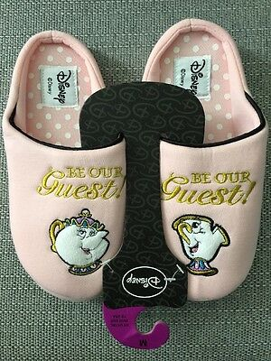 Beauty And The Beast Slippers Chip Cup New M