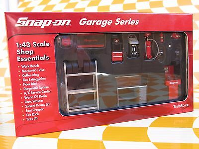TrueScale, 1:43 Scale, GARAGE EQUIPMENT, ACCESSORIES, DIORAMA, Snap on Tools