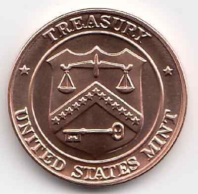 1997 United States Mint Treasury UNC D Denver Extremely Nice Token Take a Look