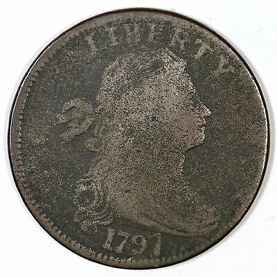 1797 NC-2 R-6 Draped Bust Large Cent Coin 1c