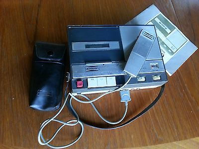 Dansette JTR 909 Magazine Cassette player + Mic + Instructions working