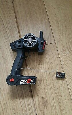 Spektrum DX2E Controller. Spektrum SR310 Reciever. Rc Car