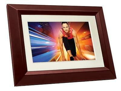 Philips SPF3402S G7 10.1 Inch Digital Picture Frames Brown Black with White...