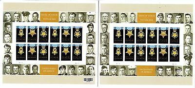 24 Vietnam War Medal Of Honor Winners-Forever Mint Stamps/