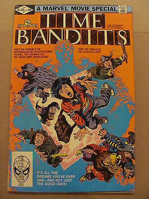 Time Bandits #1 Marvel Comics 1982 Marvel Movie Special