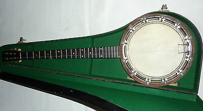 Vintage 5 String Windsor Model 8 Banjo With Beautiful Blackwood Case