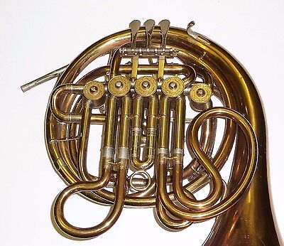 Rare Vintage GEBR ALEXANDER MAINZ  french horn Made in Germany