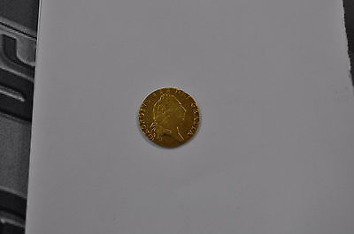 1797  1/2 Guinea, British Gold Coin From George Iii