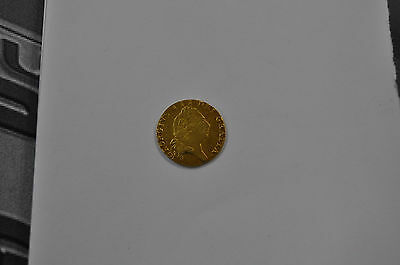 1797 Guinea, British Gold Coin From George Iii