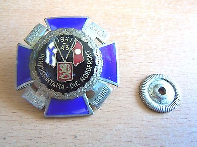WW 2 Rare black faced Northfront Cross or Nordfront Kruez For Service in Finland