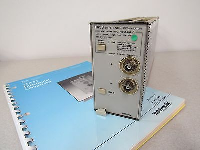 Tektronix 11A33, DC to 150 MHz, 1mV to 10 V/Div Differential Comparator Plug-In