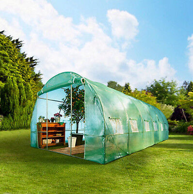 Fully Galvanised Frame Polytunnel Greenhouse Pollytunnel Poly Tunnel 4*2 5*2 6*3