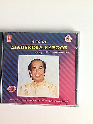 Bollywood, Hits of Mahendra Kapoor Volume 1 - 1 CD