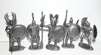 Russian toy soldiers. Hoplite. Ancient Greek infantry. 1/32 scale. 60 mm.