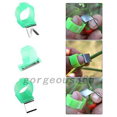 3PCS V Shape Vegetable Fruit Picker Garden Picking Ring Harvesting Cut Kits