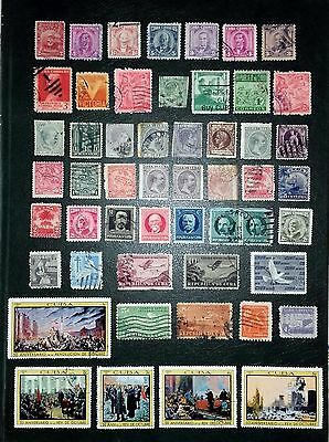 Collection of South America issues