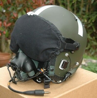 MK3C flight helmet with oxygen mask RAF complete with condition label etc