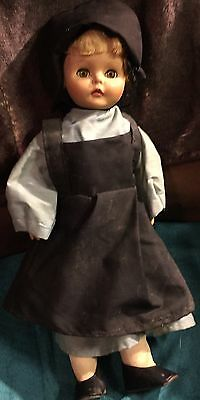 Eegee Doll Dressed In Amish Dress
